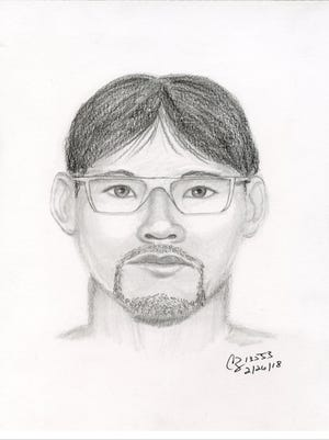 Police are looking for this man in connection with a sexual assault that occurred on Feb. 22, 2018.