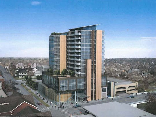 The proposed Chauncey tower
