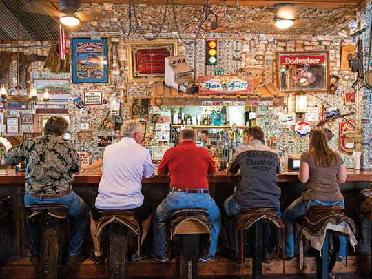 Sidle up to the bar at the Superstition Restaurant