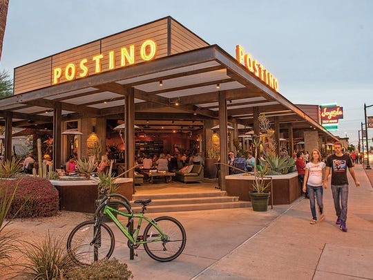 Postino East WineCafe is housed in the Grainbelt building