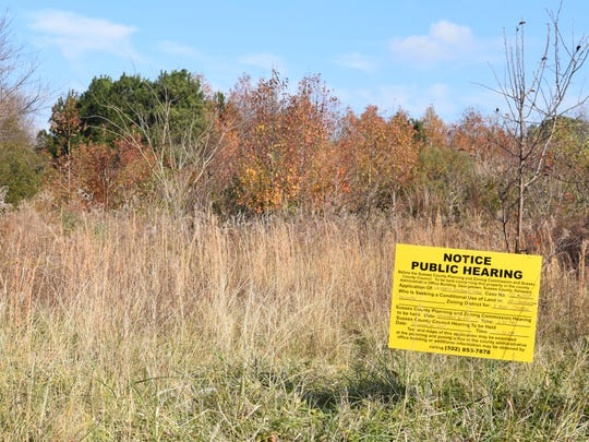 The Planning & Zoning Commission will hear the case again on Dec. 14th, when it will decide whether or not to request for approval of a conditional use permit for a storage facility to be constructed in an agricultural-residential zone.