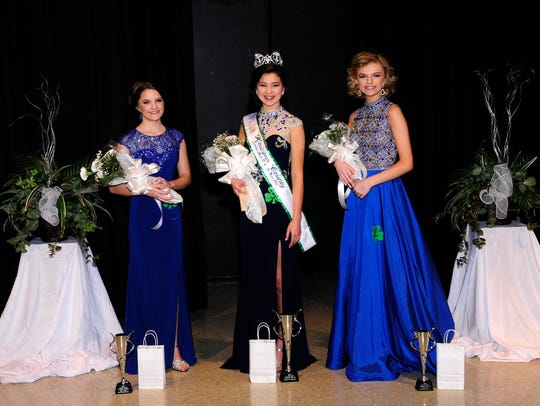 Thirteen to 14-year-old group winners left to right: