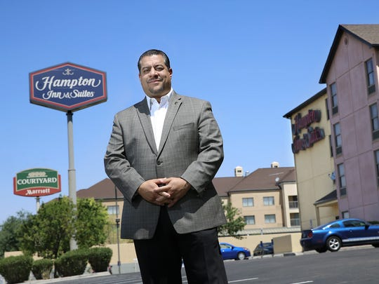 Gabriel Ayub, president of the El Paso Hotel and Lodging