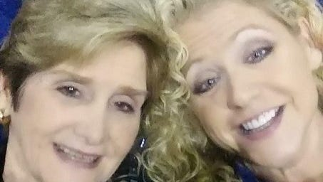 Logansport mayor Katherine Freeman (left) with her daughter Pamela Stewart, a teacher at Logansport High School.