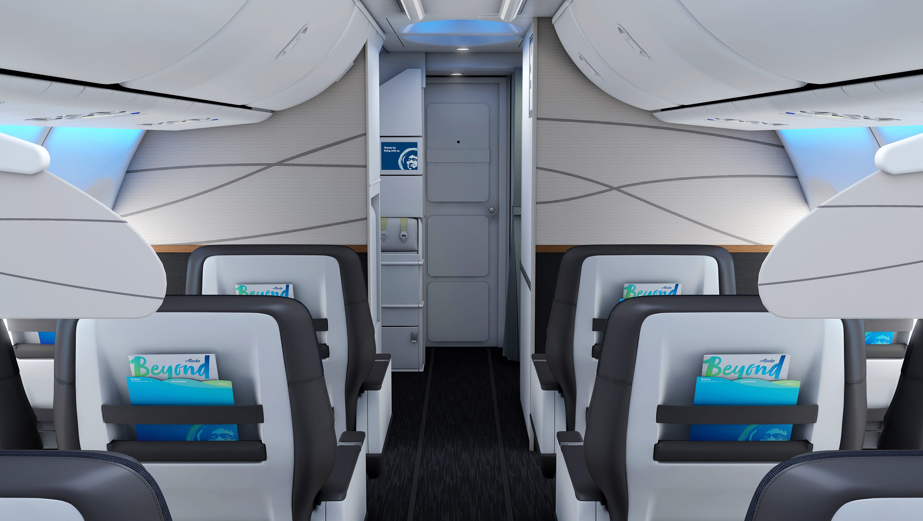 Alaska Airlines To Update Cabins In Virgin America Merger