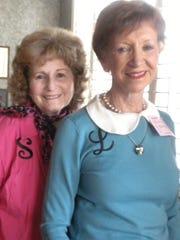 Martha Lou Broaddua, left, and Armida Stevens.