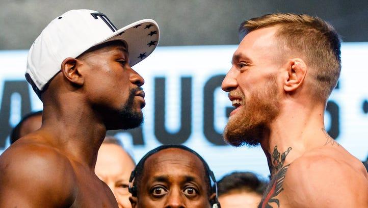 Who won Mayweather vs McGregor