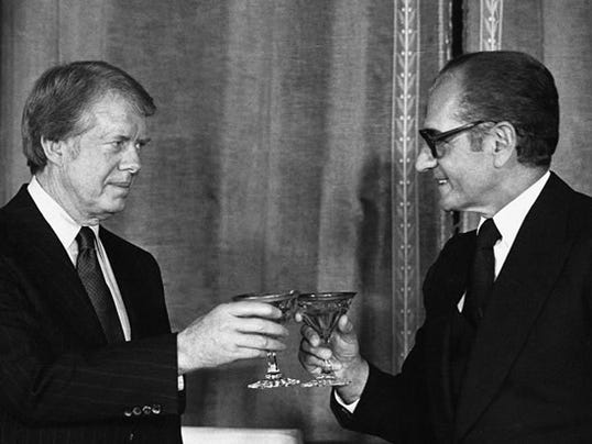Shah of Iran with Carter.jpg