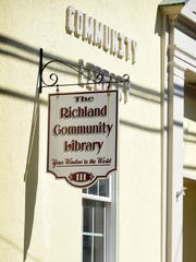 Richland Community Library pictured on Sept. 27, 2016.