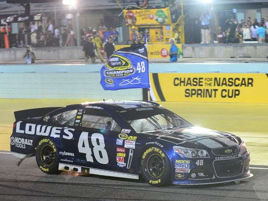 1-30-2014 jimmie johnson chase questions