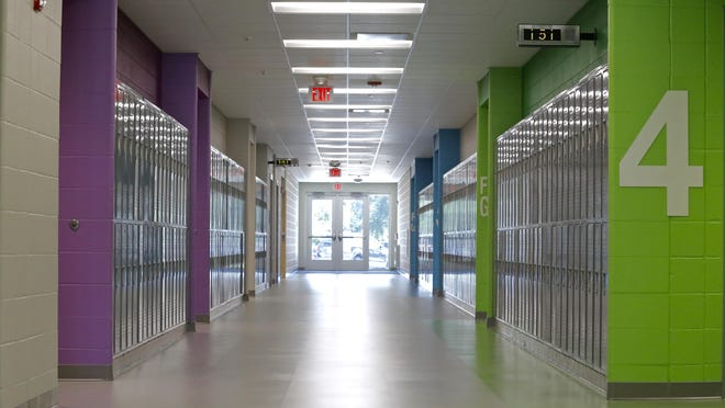 Constance Lane Elementary School, seen here on Wednesday, Aug. 12, 2020 is one of 16 schools in Rockford Public Schools that has not yet reported a positive COVID-19 case among students or staff.