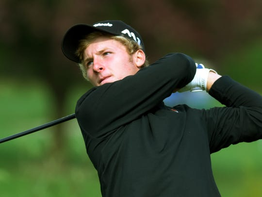 Central York's Carson Bacha already owns three American Junior Golf Association titles. He also recently won the Pennsylvania Junior Boys'  Championship. YORK DISPATCH FILE PHOTO