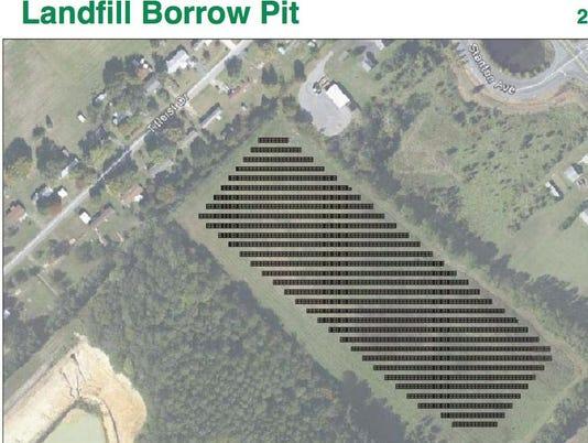 landfill solar farm