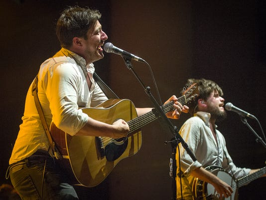 Mumford and Sons at Klipsch Music Center
