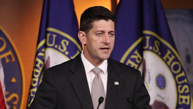 House Speaker Paul Ryan had nothing but praise for his party's presumptive nominee Donald Trump after a closed-door meeting between Trump and House Republicans Thursday.