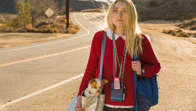 """A girl and her dog: Dakota Fanning takes a road trip with a chihuahua named Pete in  the mediocre """"Please Stand By."""""""