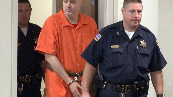 Suspended Neptune Township police sergeant Philip Seidle arrives in State Superior Court in Freehold Thursday July 16, 2015. His attorney had requested a bail reduction on the charges that he murdered his ex-wife, Tamara Wilson-Seidle, in Asbury Park.