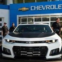 Chevrolet reveals ' most track-capable Camaro  ever'