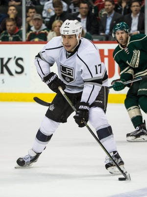Los Angeles Kings forward Milan Lucic (17) is one of the most sought after free agents on the market.