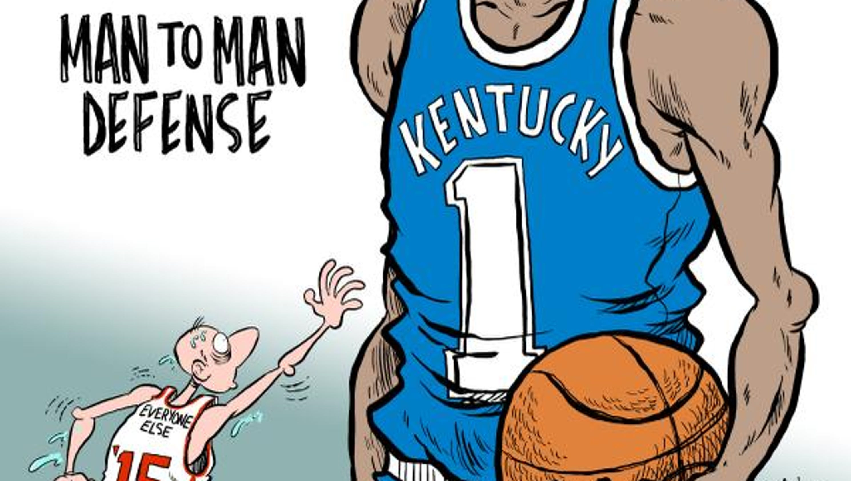 Uk Basketball: Editorial Cartoons: March Madness