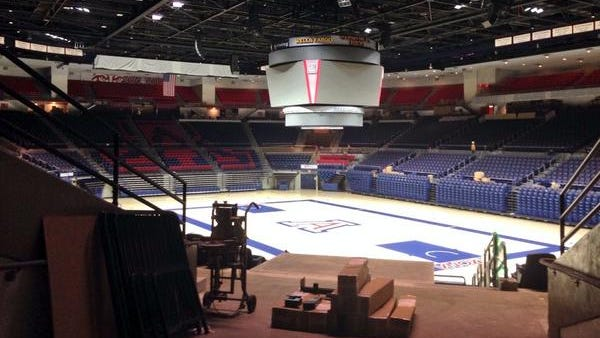 Arizona offered a first look at the McKale Center updates.