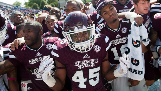 Mississippi State linebacker J.T. Gray returns as part of a very deep positional unit for the Bulldogs.