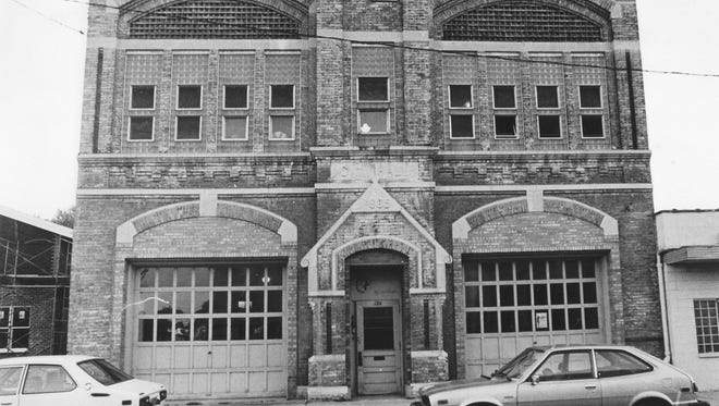 The old Menasha fire station was built in 1885. Starfire Theatre Co. had hoped to make use of the building in the early 1980s, but plans fell through. It was located at 124 Main St., Menasha.