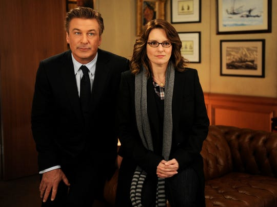 Alec Baldwin and Tina Fey star in the comedy series
