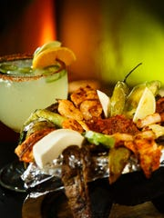 The Molcajete and Jalape–o Margarita at El Fogon on