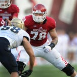 Indiana's Jason Spriggs and IU's experienced offensive line should prove to be a strength for the team this season.