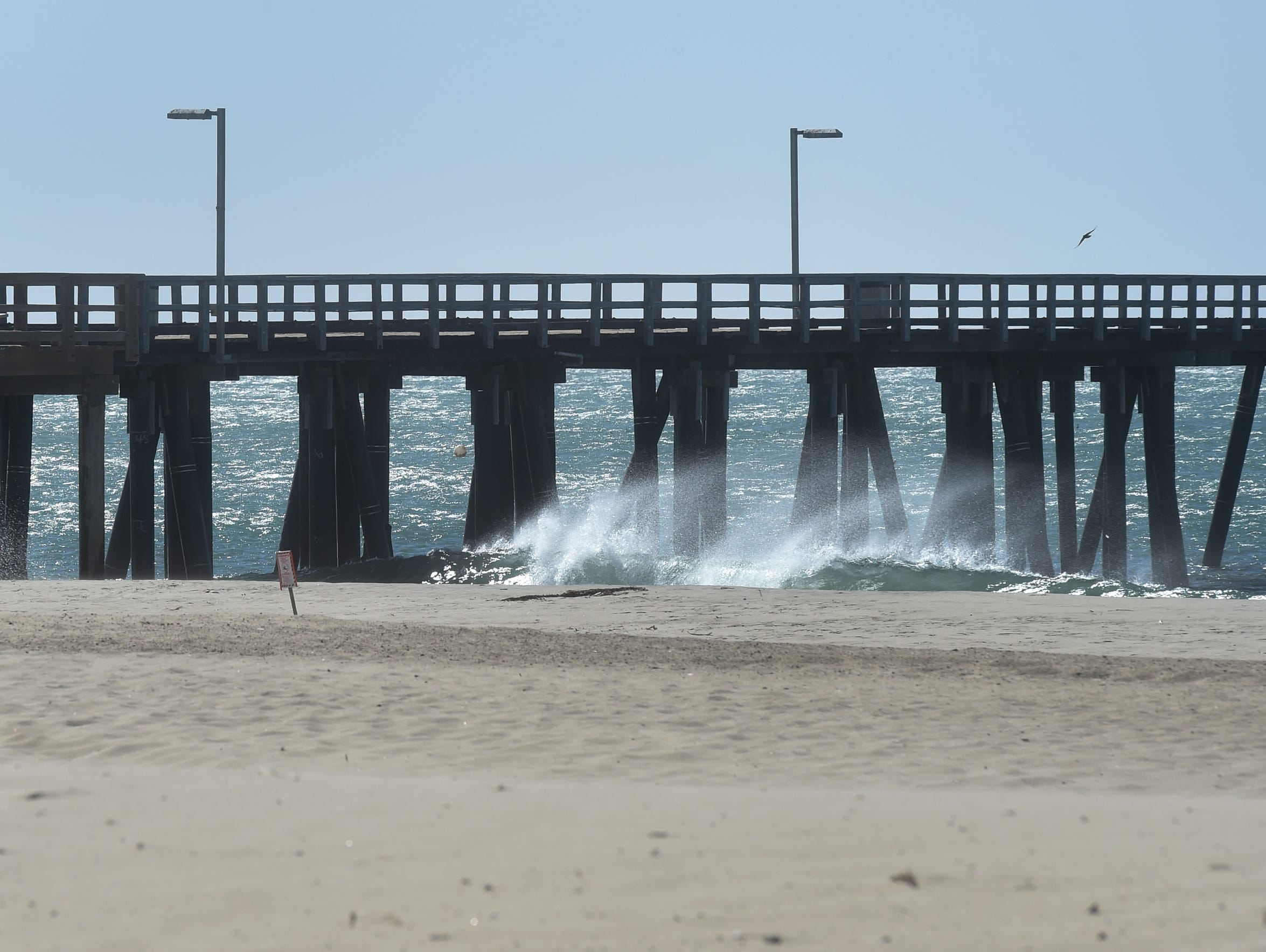Port Hueneme's economic development strategy includes getting more tourists to the city's beach.