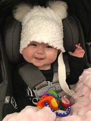 Ryann Shaw, daughter of Milwaukee Brewers player Travis Shaw and his wife Lindy.
