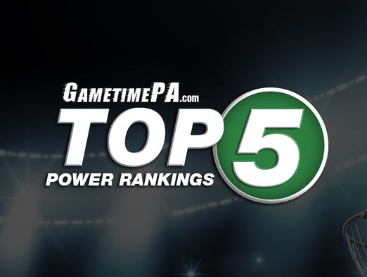 GametimePA.com Top 5 Power Rankings