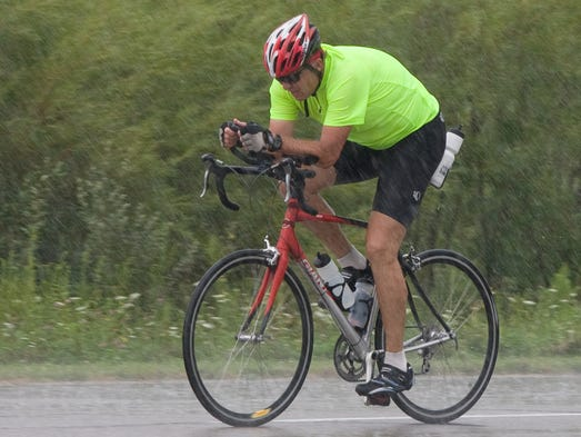Riders participated in the annual fund raiser and some completed a 24 hour ride challenge.