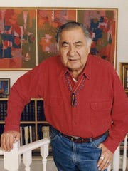 George Morrison, Ojibwe artist and one of Minnesota's revered artists, died April 17, 2000. He is the subject of a documentary to be screened Dec. 13 in Little Falls.