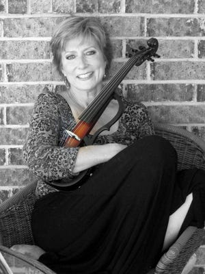 Regional violinist Elizabeth O'Bannon will perform Sunday in the St. George's Episcopal Church sanctuary.
