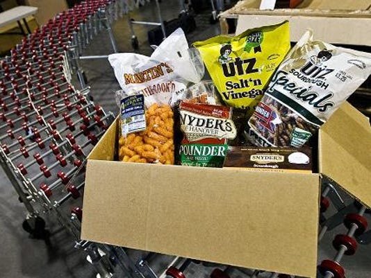 File photo; Last fall, area business owners launched www.snackfoodcapital.com.