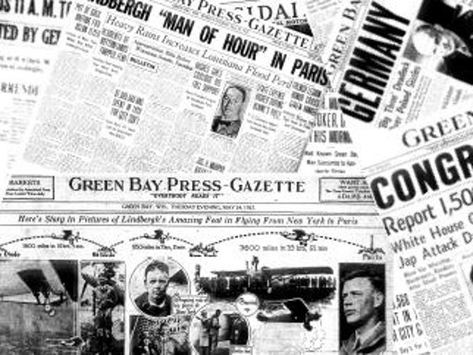 Cover for Historical Front Pages