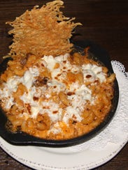 Mac & Cheese Bolognese at 808 Social in Eastchester.