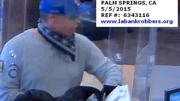 Suspect in May 5 robbery at Wells Fargo