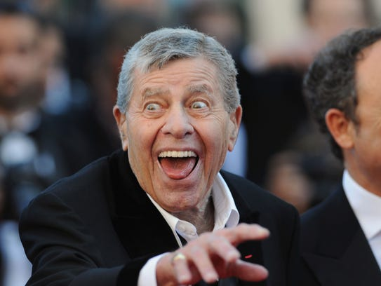 Jerry Lewis attends the Jerry Lewis hommage and 'Max