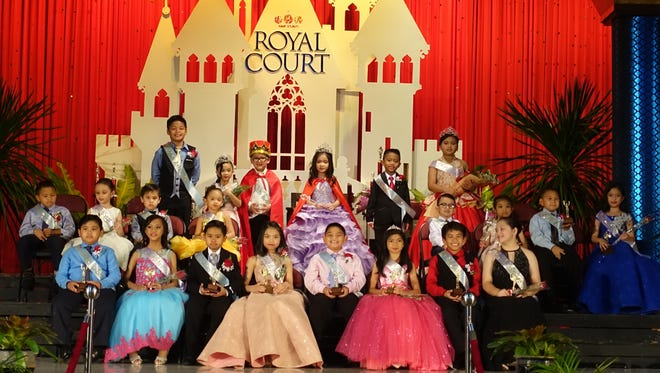 Congratulations to all the winners of Santa Barbara Catholic School's Royal Court of 2018 crowned on Friday, February 16. SBCS thanks all the parents, faculty, staff, students and friends who made this year's fundraising event a big success. Front Row from left: Lance Basino, Regina Rosario, Xavier Yu, Rhainna Cayanan, Adam Quitugua, Gianne Tanglao, Ian Castro and Chloe Borja. Second Row from left: Davien Reice Bucao, Samantha Hilton, David Lujan, Elayna De Roca, Brennan Baldonado, Franzene De Lima, Ayden Buentipo, and Keisha Manuel. Top Row from left: Arkin Isip (2nd prince), Juzelle Tuazon (2nd princess), (King) Daniel Rodriguez, (Queen) Marianne Fernando, Sedric Tabudlong (1st prince), Khloe Aquino (1st princess).