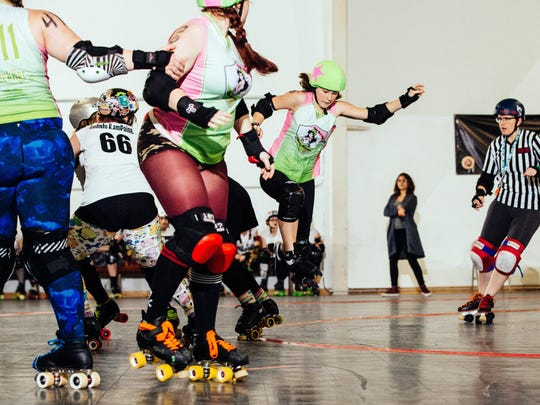 Cherry City Roller Derby will roll into the Salem Armory with two full-length bouts featuring all four of Salem women's teams 6 p.m. Sept. 16. $15 in advance or $17 at door; ages 6 and younger are free.