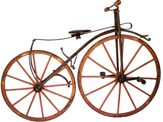 The Henry Sheldon Museum in Middlebury hosts the bicycle-themed