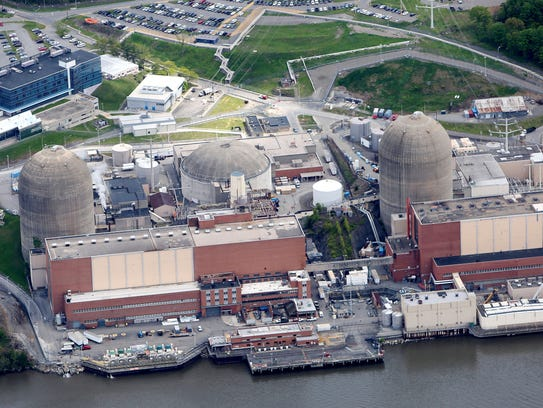 The Indian Point Nuclear Power Plant in Buchanan May
