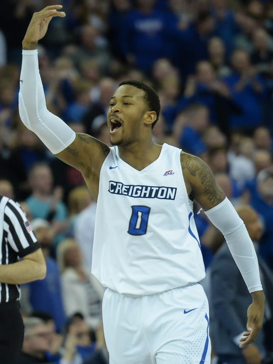 USP NCAA BASKETBALL: VILLANOVA AT CREIGHTON S BKC CRE VIL USA NE