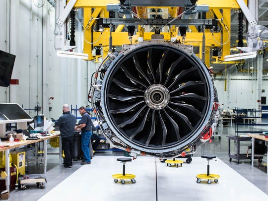 The LEAP Engine is manufactured at Lafayette's GE Aviation facility.