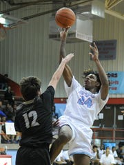 Hirschi's Xavier King (24) hopes to provide some depth for the Huskies to match up with a deep Burkburnett squad.
