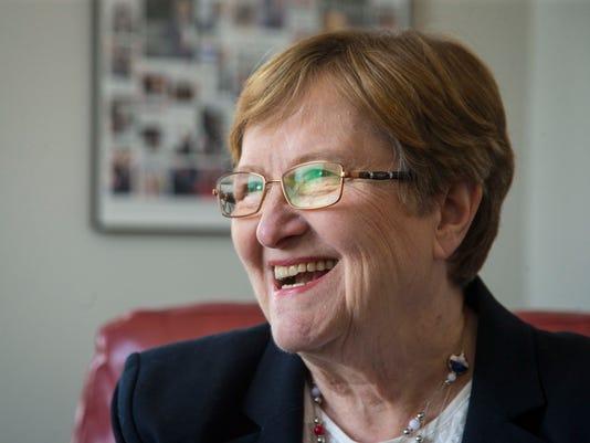 US Senate candidate Patty Judge