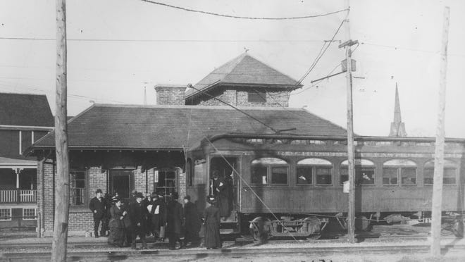 The Rochester and Eastern Rapid Railway substation, circa early 1900s.